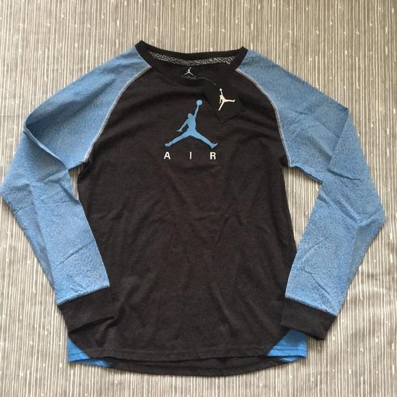 82de348fe620 Nike Air Jordan Long Sleeve Tee
